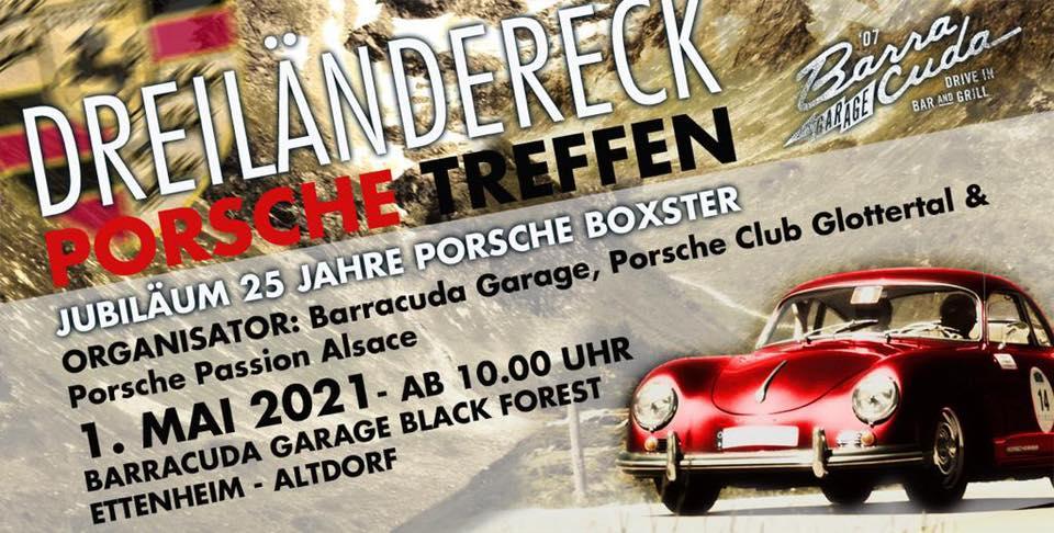 Dreiländereck Porsche Treffen